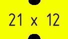 21 х 12 прям.