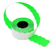 Этикет-лента 22X12X1000 зелёная, волна