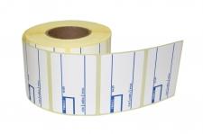Термотрансферная этикетка (полуглянец) 58 х 40 мм для весов