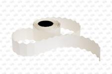 Этикет-лента 26X12 белая, для нумер. кроя